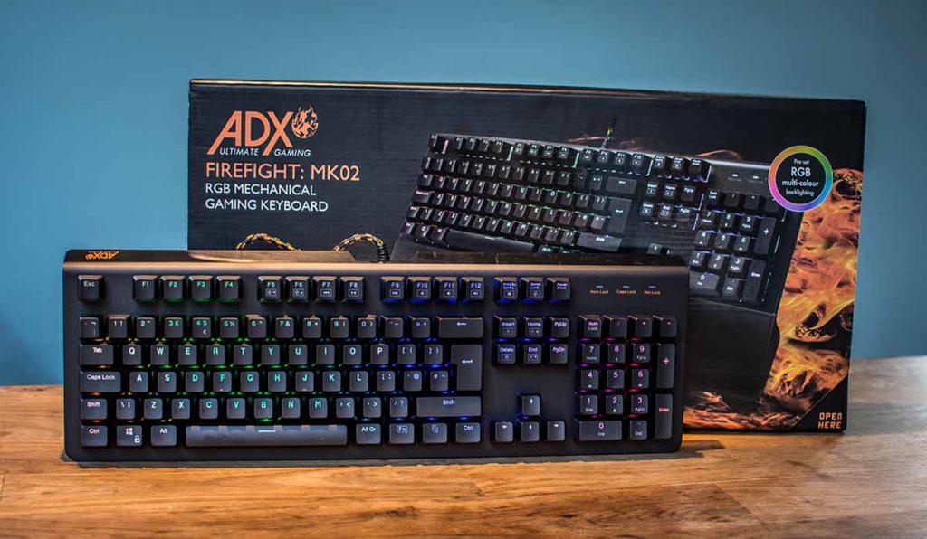 Adx Firefight Mk02 Keyboard Review Technuovocom