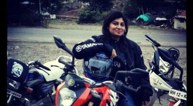 World Women Riders: Kalyani Potekar