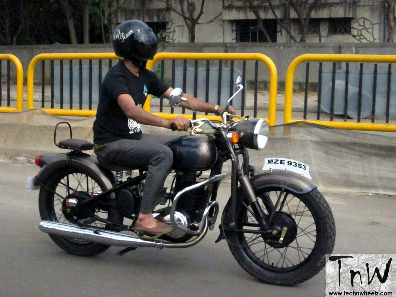 Rajdoot 175 Remastered By Ayas Custom Motorcycles Tech
