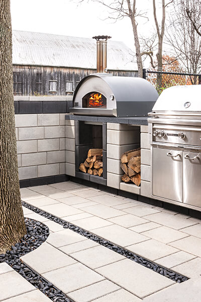 Amenagement Exterieur Foyer Raffinato Pizza Oven - Fire Pits And Outdoor Kitchens