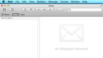 Apple Mail App Default Window