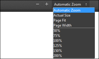 Firefox PDF Viewer Zooming