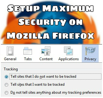 Firefox Privacy Setting