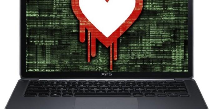 Heartbleed Virus on Computer