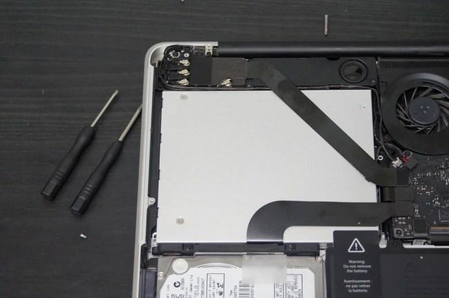 Replacing Hard Drive with SSD on Mac (4)