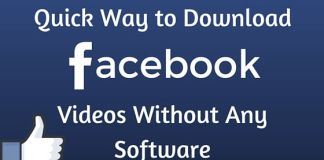 Download Facebook Videos Without Any Software