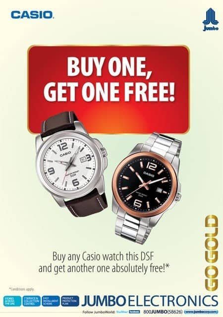 Casiowatch promo #DSF2012  Dubai Shopping Festival offers, deals, discounts, raffles ,prizes and more...
