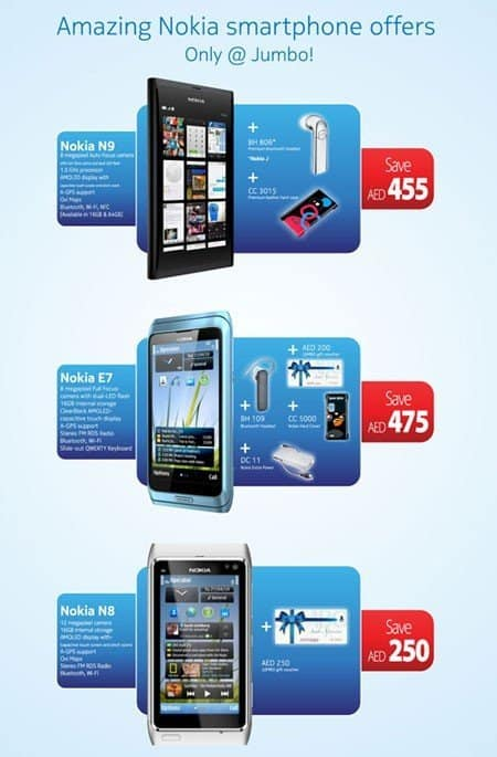 JumboDSFnokiaOffers #DSF2012  Dubai Shopping Festival offers, deals, discounts, raffles ,prizes and more...