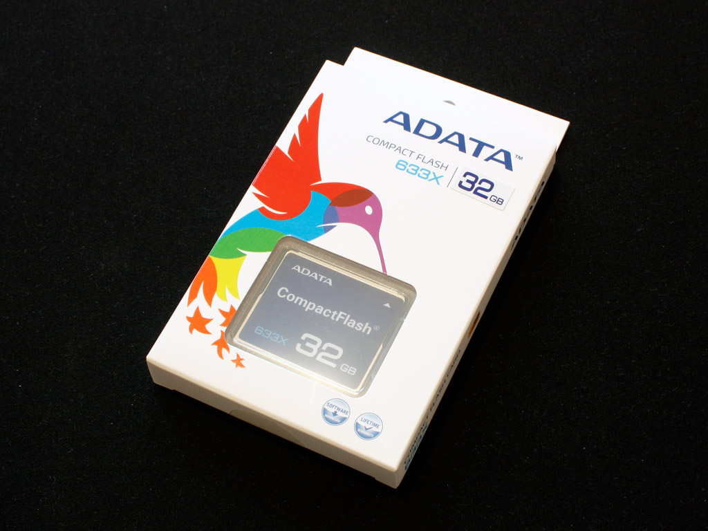 Compact Flash A-data 32 Gb 633x Compact Flash Review | Techpowerup