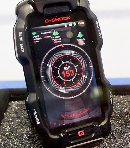 Casio G-Shock is a tough nut to crack smartphone