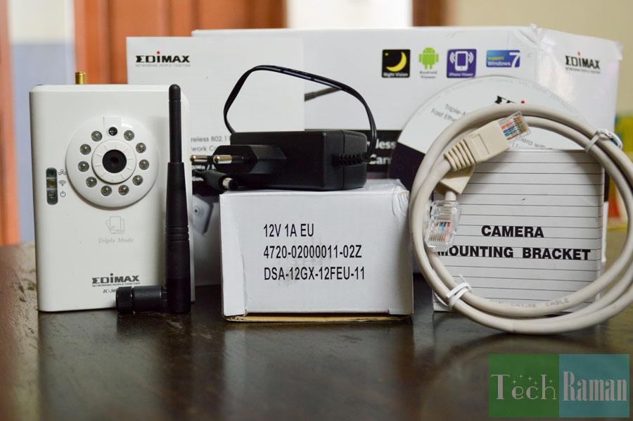 Edimax-ic-3030i-unboxing