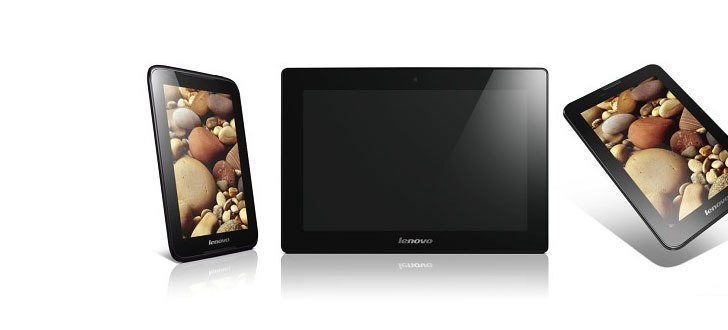 WMC 2013: Lenovo Parades three tablets, the 7-inch A1000 and A3000, and the 10-inch S6000
