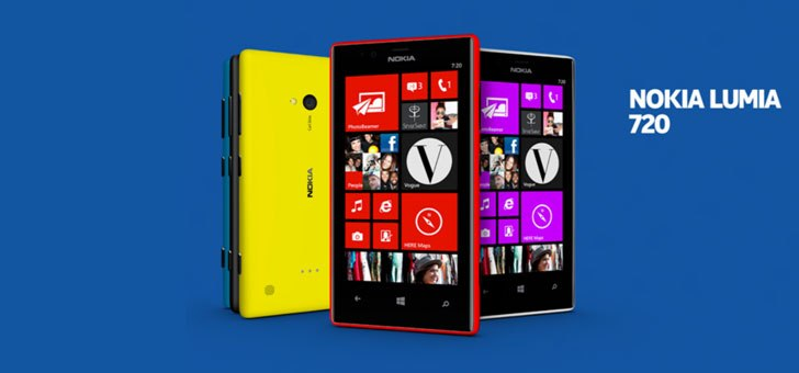 Nokia Lumia 720 launched in India,to be available mid-April