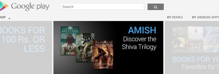 Google Play Books Now Available in India