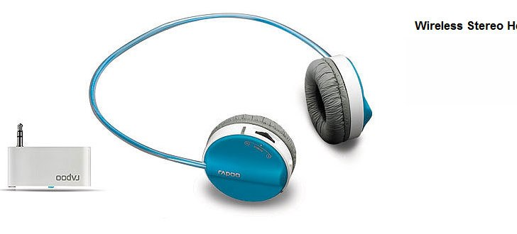 Rapoo launches Wireless Stereo Headset H3070 with dual input mode