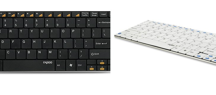 RAPOO Launches ultra-slim Bluetooth keyboard E6100 in India