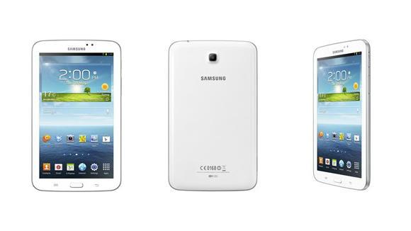 Samsung Galaxy Tab 3 unveiled, sports a sleeker look