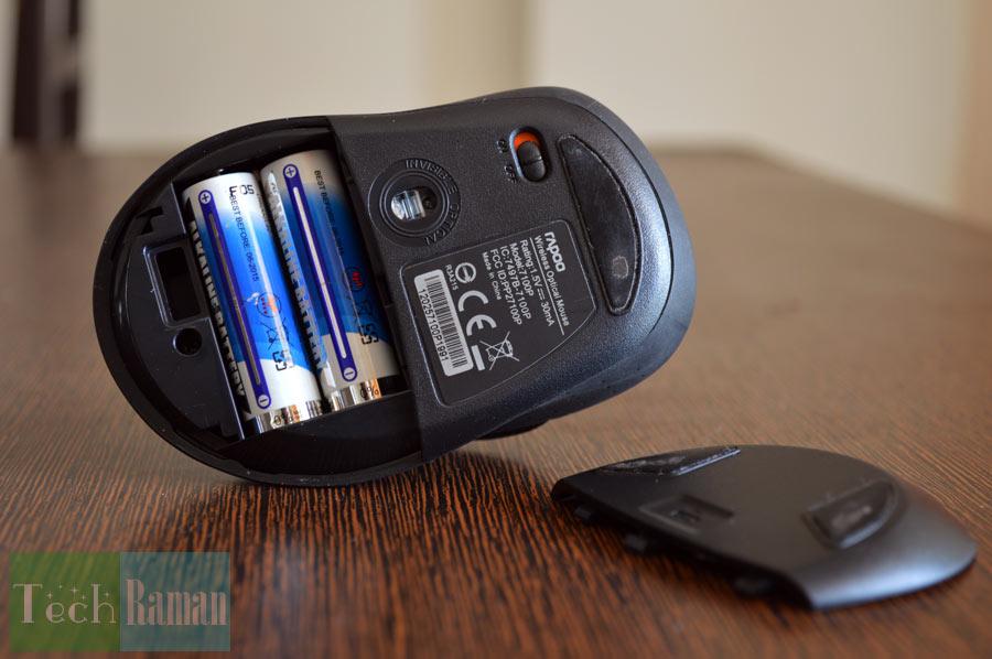 Rapoo-7100p-battery