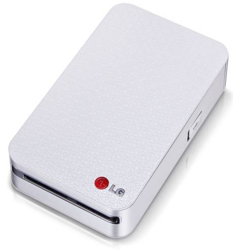 LG pocket photo printer