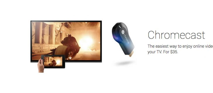 Google introduces Chromecast: A dongle to throw online video to TV effortlessly
