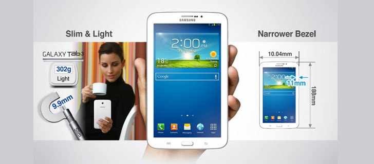 Samsung Galaxy Tab 3 211 launched in India for Rs 17,745
