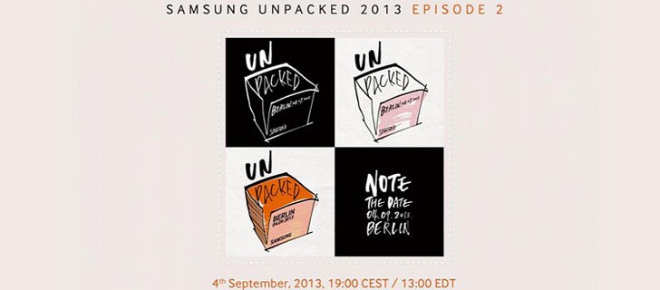 Samsung Galaxy Note III to be announced on September 4th Unpacked event