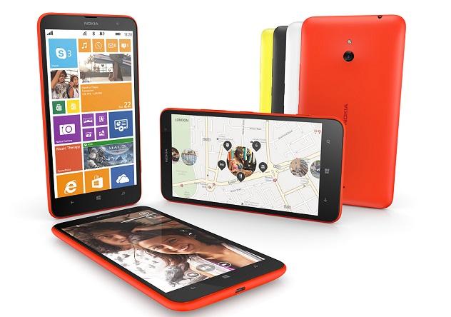Nokia unveils Lumia 1320, a new 6-inch mid-range phablet