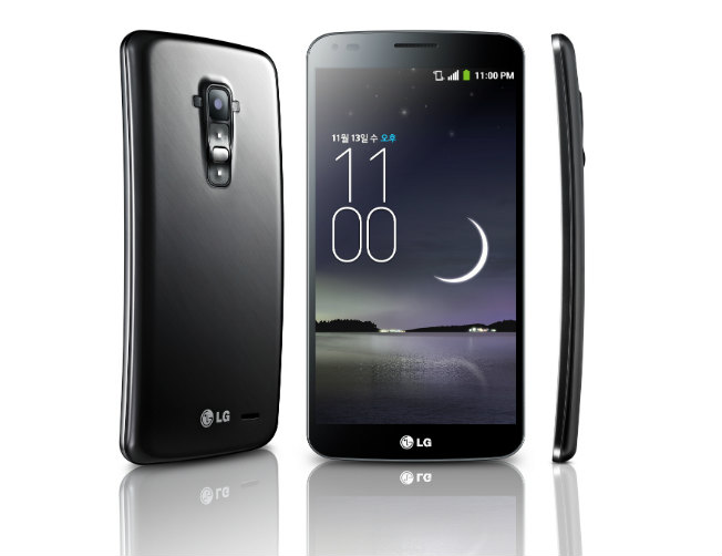 LG G Flex Smartphone with curved display unveiled in India, will be avaialble in Feb