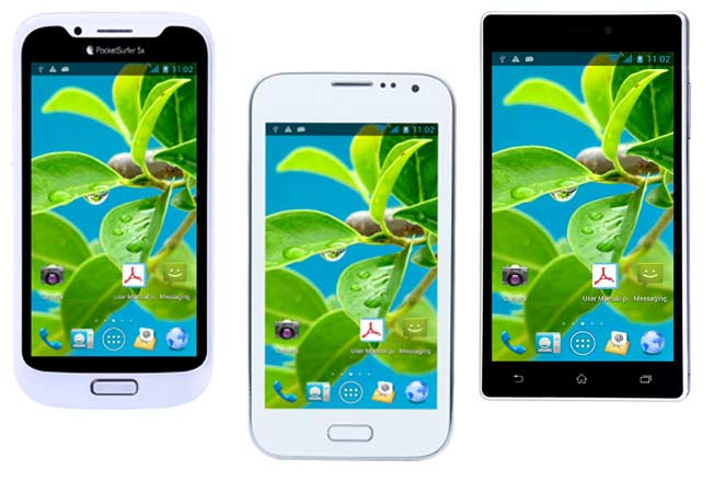 Aakash tablet makers Datawind launches PocketSurfer range of budget smartphones