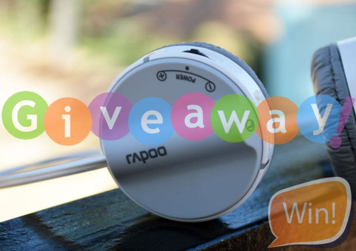 Win Rapoo H3070 Wireless Stereo Headset: TechRaman Giveaway