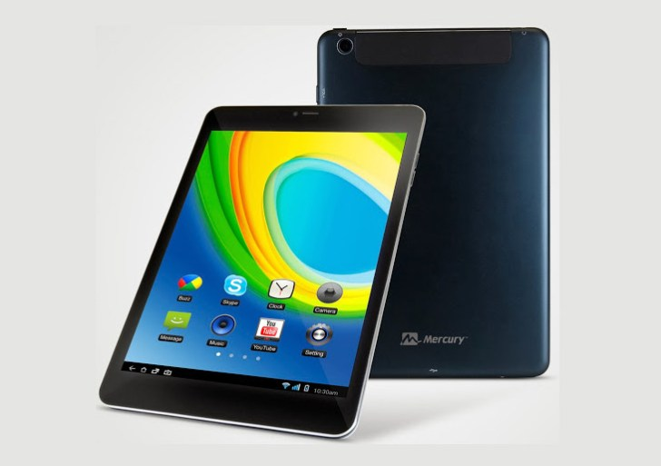 Mercury mTAB Air tablet with 7.85-inch display, dual sim 3G calling launched