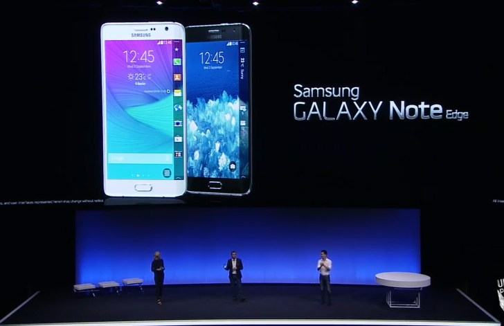 Galaxy Note 4 Edge: Samsung experiments with bend display
