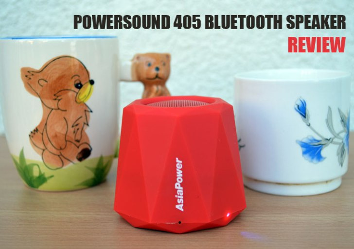 AsiaPower PowerSound 405 Bluetooth Speaker Review – A tiny little surprise!