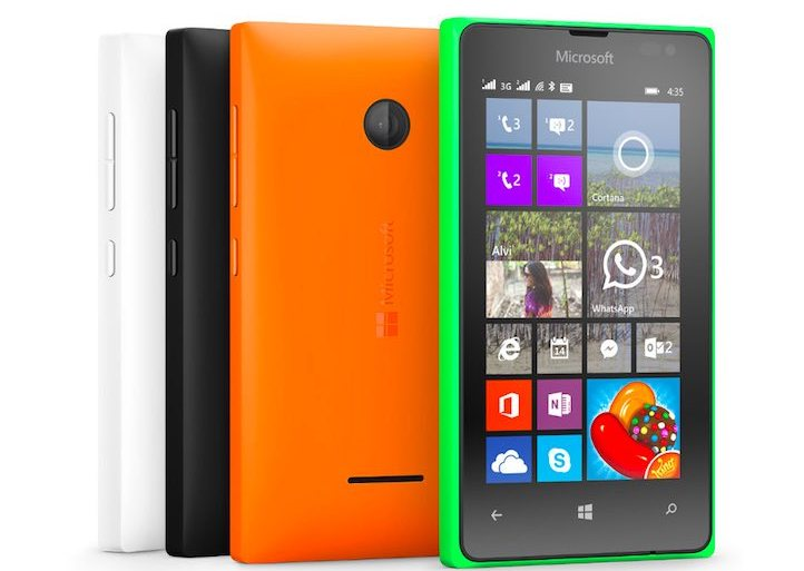 Microsoft Lumia 435, the most affordable Windows Phone launched in India