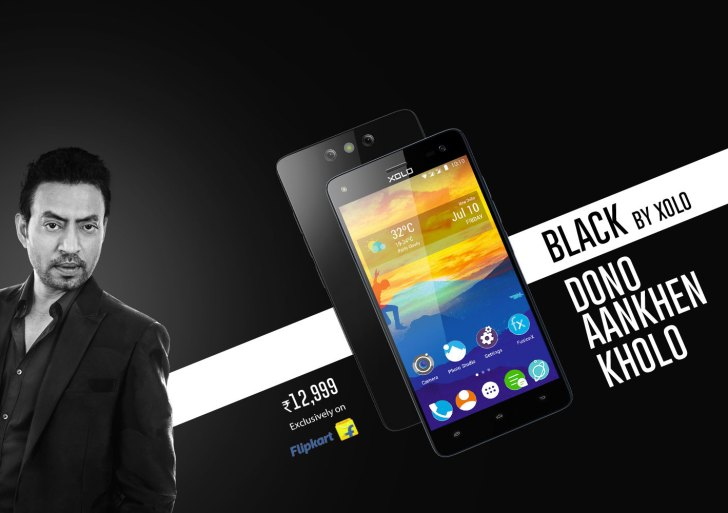 Xolo Black is Flipkart exclusive and features dual rear camera; Priced at Rs 12,999