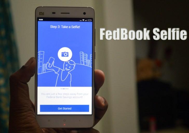 FedBook Selfie – Your new bank a/c is just a selfie away