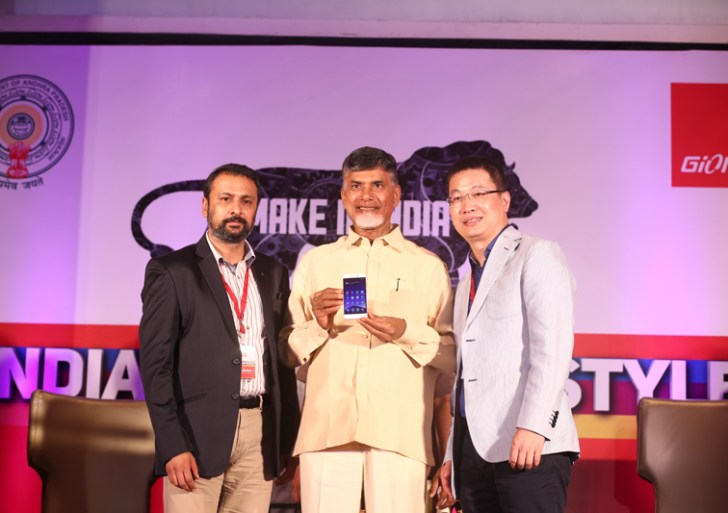 Gionee Launches its first Made in India Phone in Vishakhapatnam