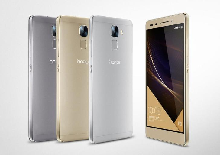 Honor 7 with 5.2-inch display, fingerprint scanner launched in India at Rs 22,999