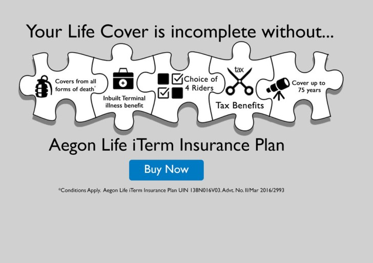 Aegon iTerm, online protection plan relaunched with new features