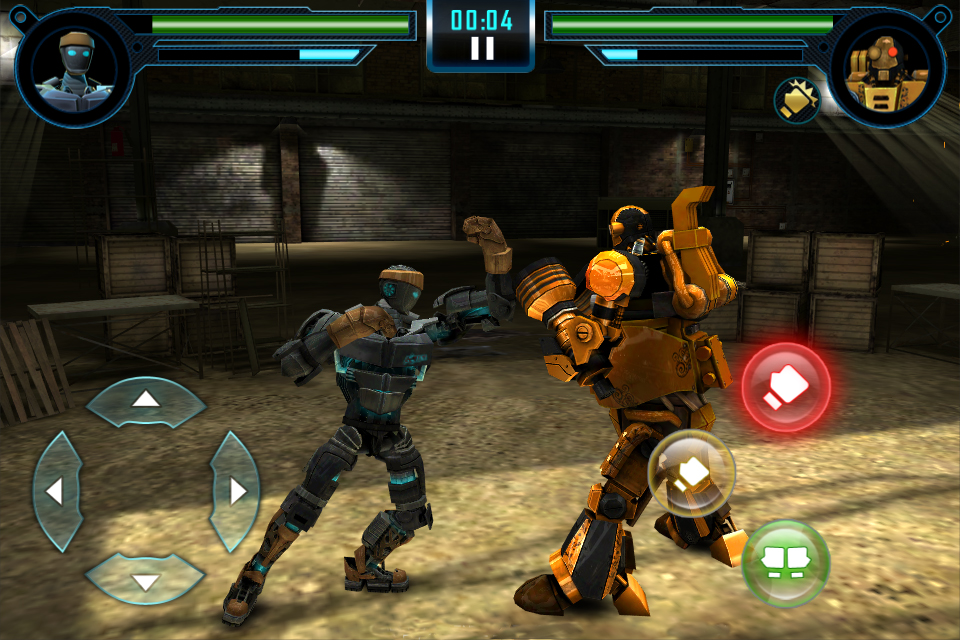 real steel game online game play