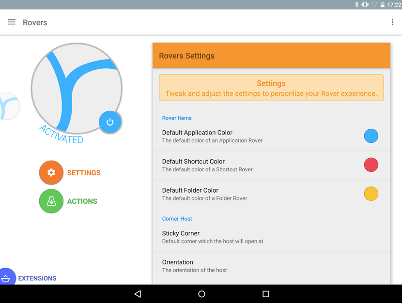 Rovers Floating Launcher APK 4