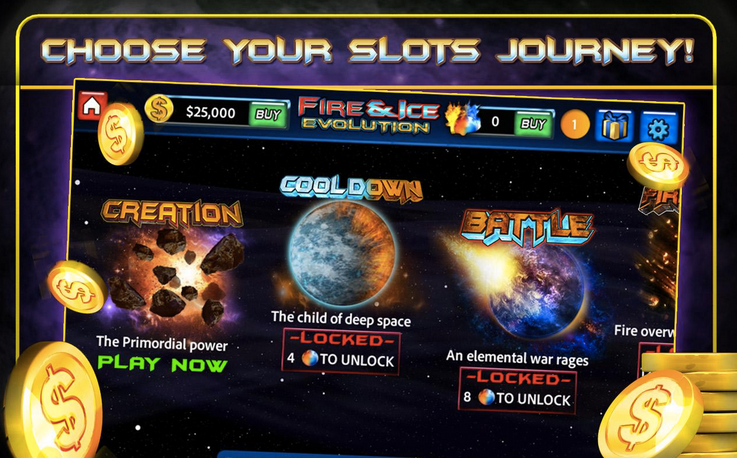 Fire and Ice Slots APK 3