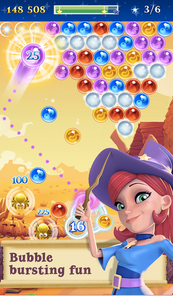 Bubble Witch 2 Saga APK 2