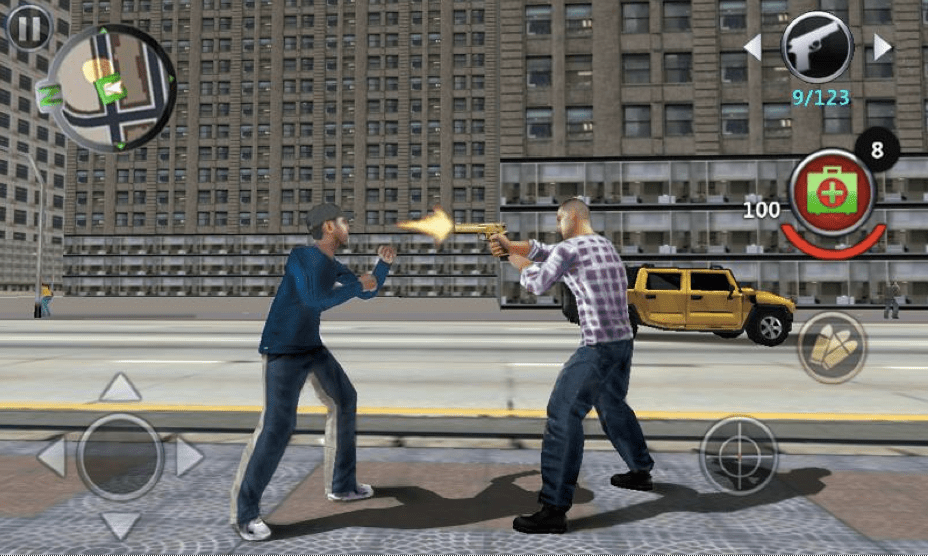 Grand Gangsters 3D APK 4