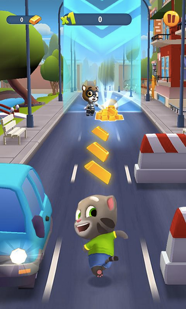 Talking Tom Gold Run APK 2