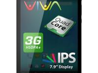 Tableta Allview Viva H8 cu procesor Quad-Core