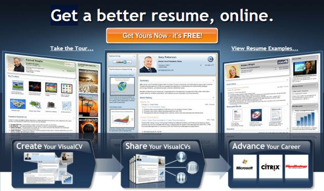 visual resume builder pro