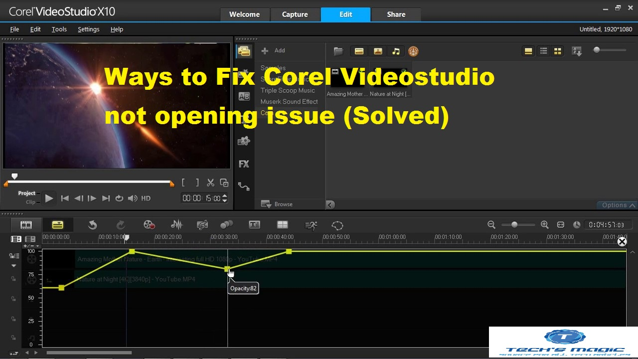 Corel Videostudio X9 Ways To Fix Corel Videostudio Not Opening Issue Solved