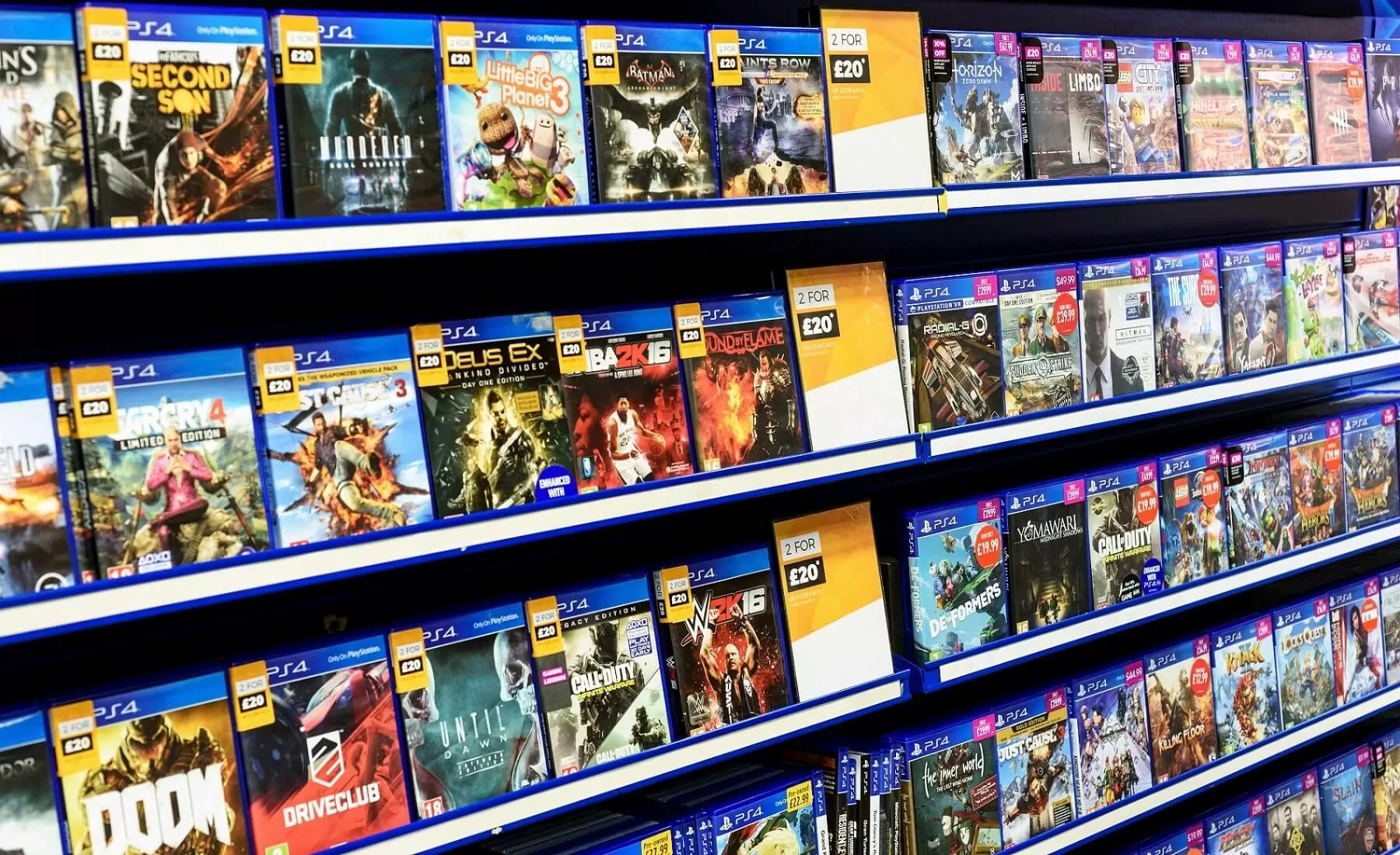 Games Tiendas Uk Gaming Market Now Worth Over 7 Billion But Pre Owned