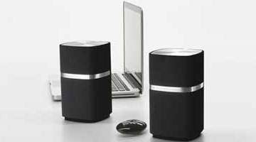 Bowers & Wilkins MM-1 speakers for iPods, computers, MP3 players, portable AV players